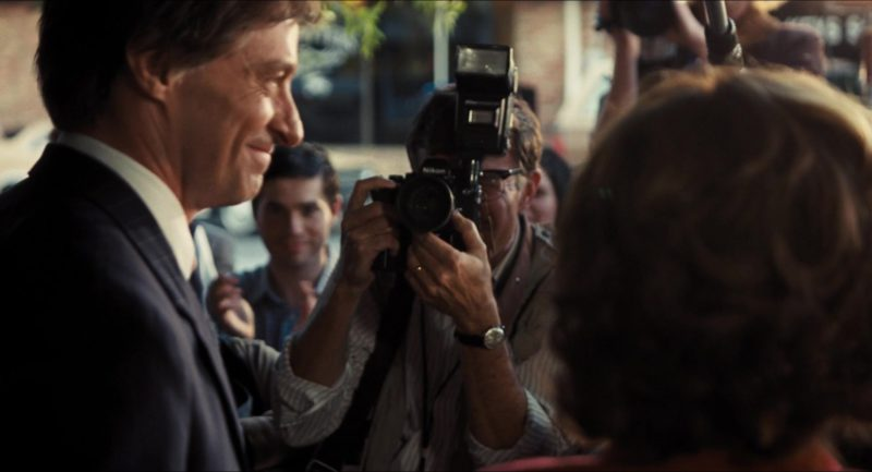 Nikon Camera in The Front Runner (2018) Movie Product Placement