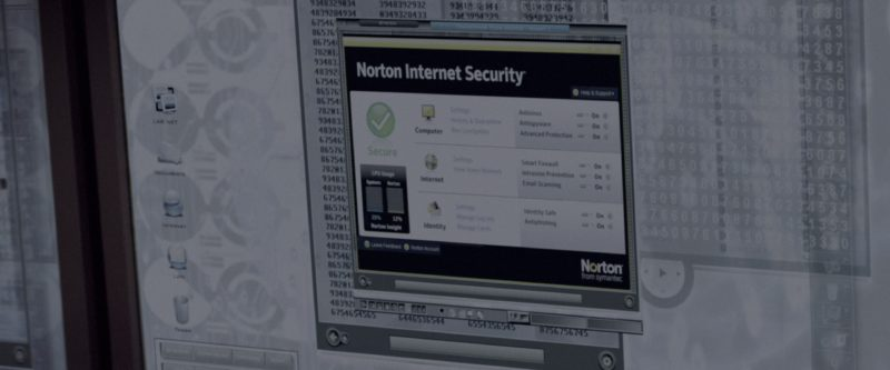 Norton Internet Security Computer Antivirus in G.I. Joe: The Rise of Cobra (2009) - Movie Product Placement