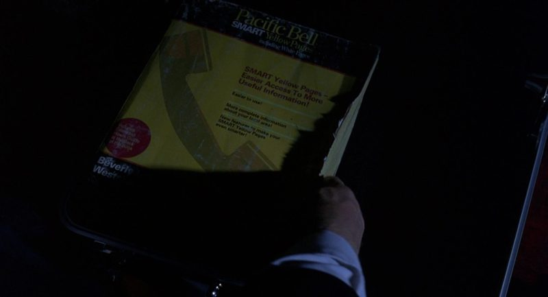 Pacific Bell Smart Yellow Pages Including White Pages in The Big Lebowski (1998) Movie Product Placement