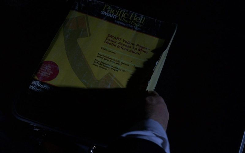 Pacific Bell Smart Yellow Pages Including White Pages in The Big Lebowski