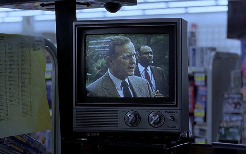 Panasonic TV in The Big Lebowski