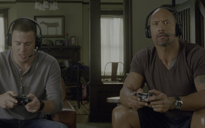 Panerai Luminor Chrono Daylight Watch Worn by Dwayne Johnson in G.I. Joe Retaliation