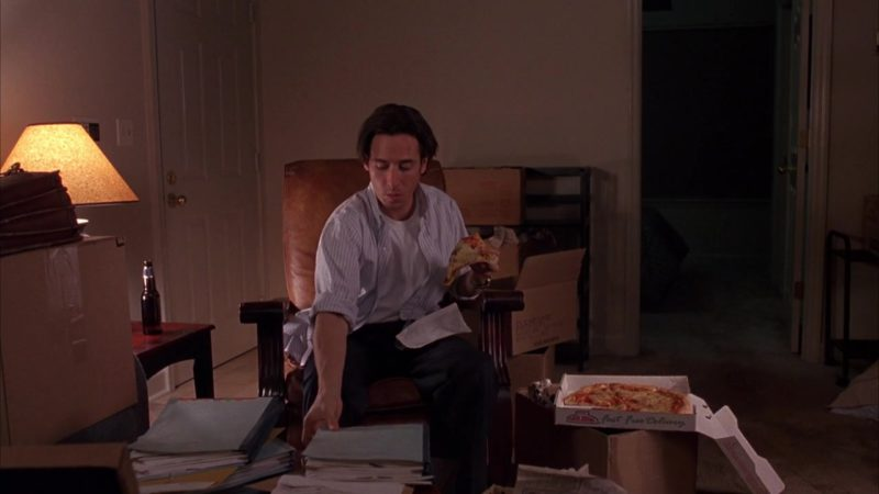 Papa John's Pizza in Last Dance (1996) - Movie Product Placement