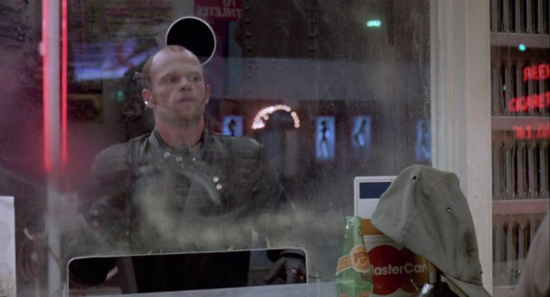 Perrier Water & MasterCard in RoboCop (1987) - Movie Product Placement