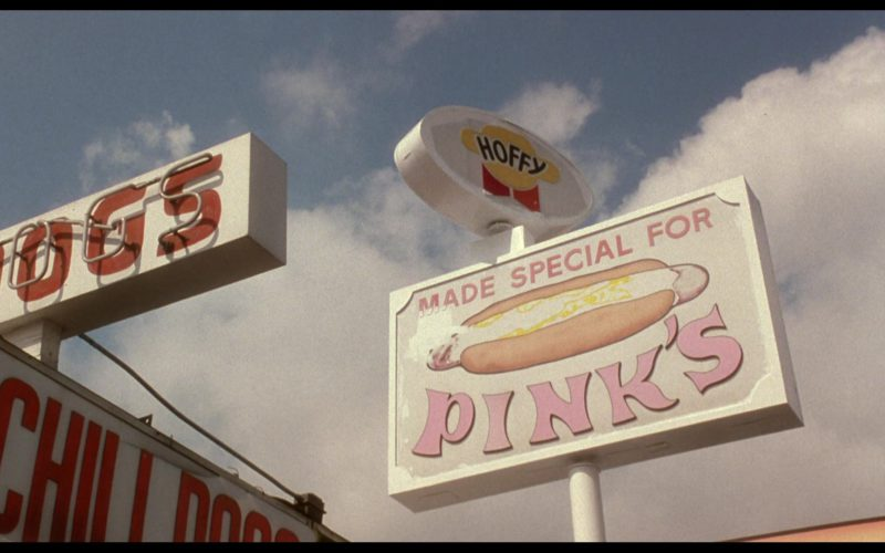Pink's Hot Dogs Restaurant and Hoffy in Mulholland Drive (1)