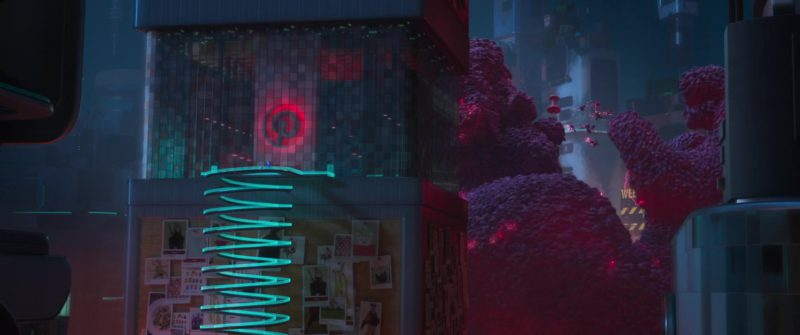 Pinterest Social Media Web & Mobile Application Company in Ralph Breaks the Internet (2018) Animation Movie Product Placement
