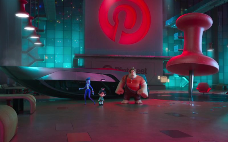 Pinterest Social Media Web & Mobile Application Company in Ralph Breaks the Internet (5)