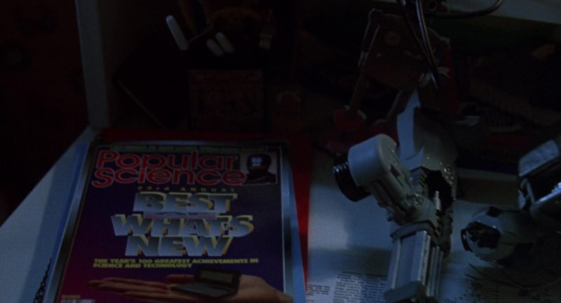 Popular Science Magazine in RoboCop 3 (1993) Movie Product Placement