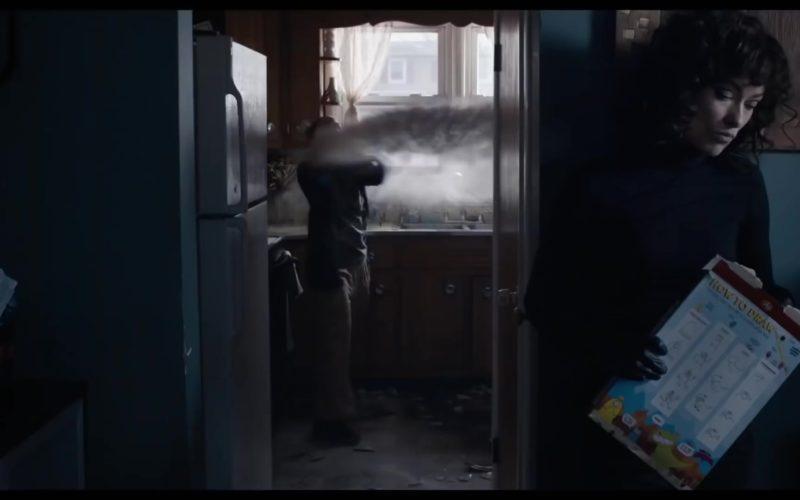 Post Cereal Held by Olivia Wilde in A Vigilante (1)