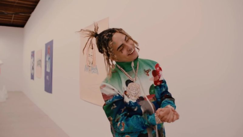 Prada Jacket Worn by Lil Pump in Be Like Me (2019) - Official Music Video Product Placement