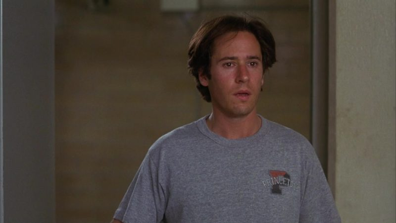 Princeton T-Shirt Worn by Rob Morrow in Last Dance (1996) Movie Product Placement