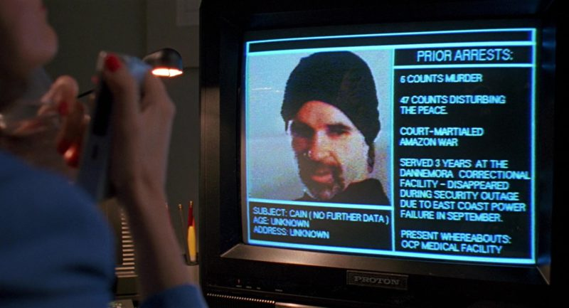 Proton TVs in RoboCop 2 (1990) - Movie Product Placement
