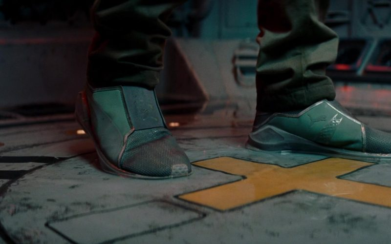Puma Women's Green Shoes Worn by Zhang Ziyi in The Cloverfield Paradox (1)