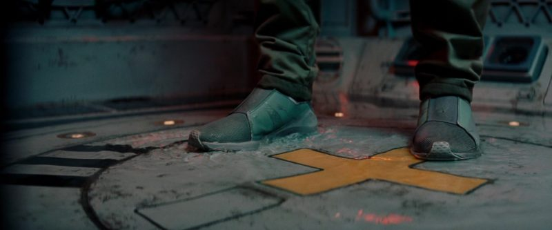 Puma Women's Green Shoes Worn by Zhang Ziyi in The Cloverfield Paradox (2018) - Movie Product Placement