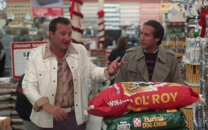 Purina Dog Chow and Walmart Ol' Roy Dog Food in National Lampoon's Vacation (3)