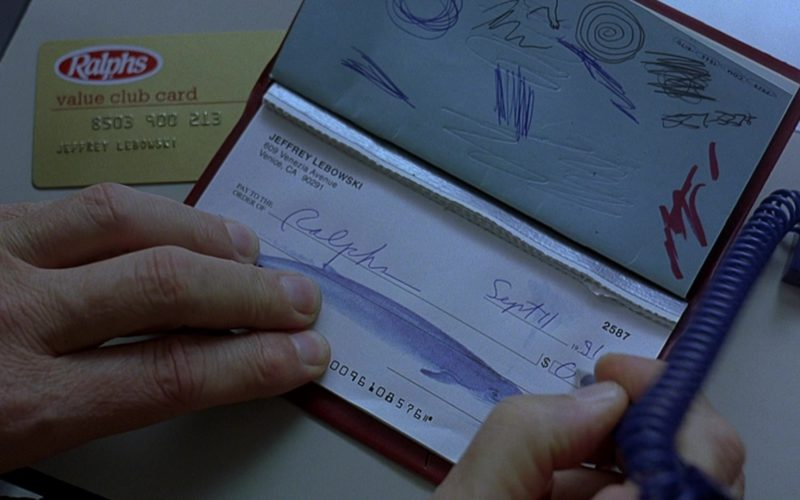 Ralphs Supermarket Value Club Card in The Big Lebowski