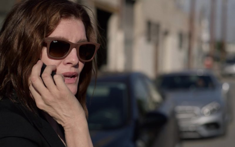 Ray-Ban Women's Sunglasses With Brown Frame Worn by Rene Russo in Velvet Buzzsaw (1)