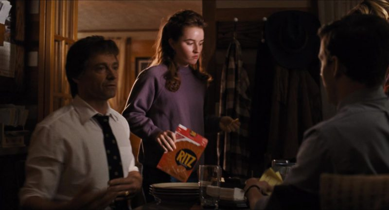 Ritz Crackers in The Front Runner (2018) - Movie Product Placement