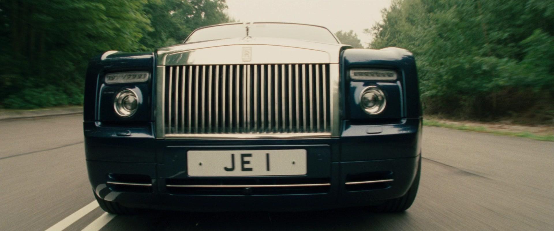 Rolls-Royce Phantom Coupé Luxury Convertible Car in Johnny English Reborn (2011) Movie