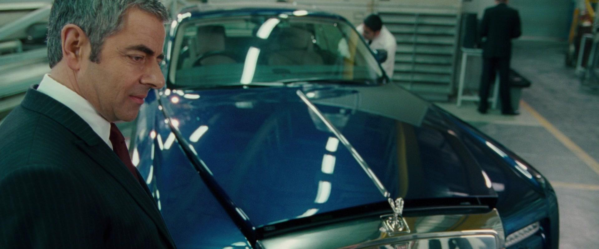 Rolls Royce Phantom Coup Luxury Convertible Car In Johnny English Reborn on Convertible Van