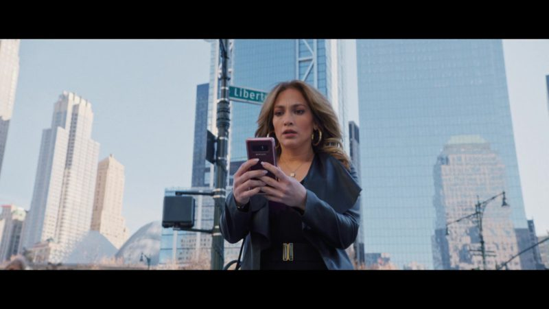 Samsung Galaxy Cell Phone Used by Jennifer Lopez in Second Act (2018) - Movie Product Placement