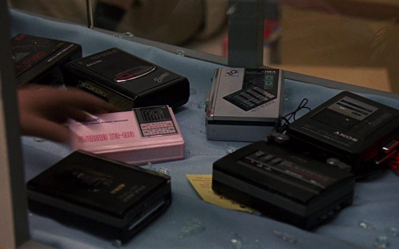 Sanyo, AIWA and Sony Portable Tape Recorders in RoboCop 2