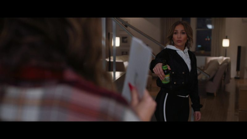 Sierra Nevada Pale Ale Bottle Held by Jennifer Lopez in Second Act (2018) Movie Product Placement