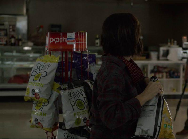 SkinnyPop Popcorn in Bird Box (2018) - Movie Product Placement