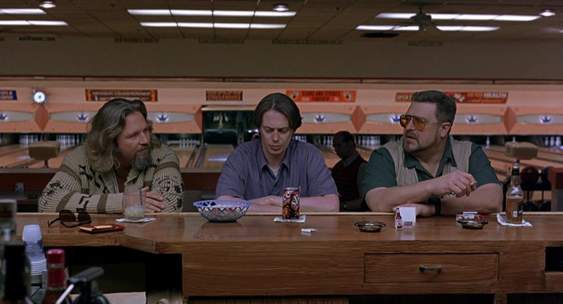Slice Drink Held by Steve Buscemi in The Big Lebowski (1998) - Movie Product Placement