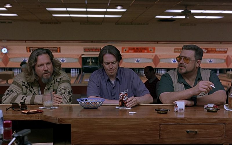 Slice Drink Held by Steve Buscemi in The Big Lebowski (2)