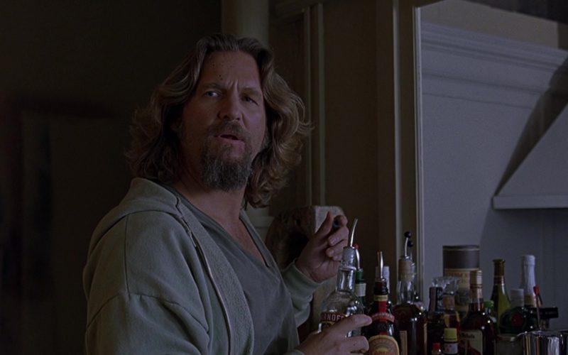 Smirnoff Vodka Drunk by Jeff Bridges (The Dude) in The Big Lebowski (1)