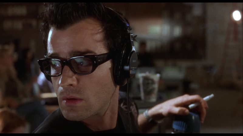 Sony Headphones Used by Justin Theroux in Mulholland Drive (2001) - Movie Product Placement