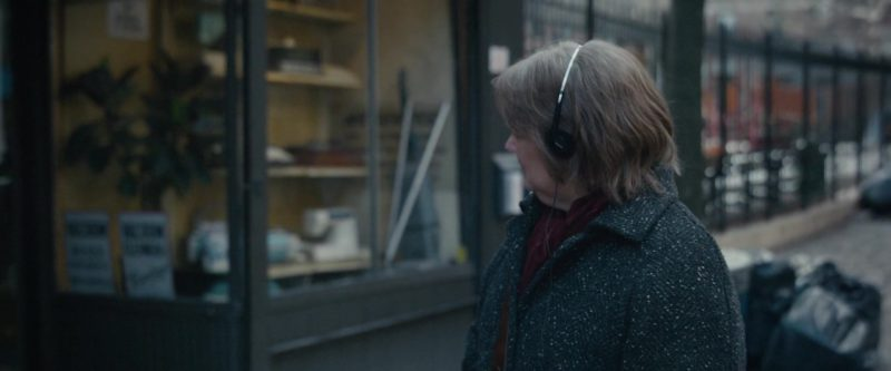 Sony Headphones Used by Melissa McCarthy in Can You Ever Forgive Me? (2018) Movie Product Placement