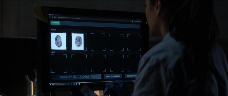 Sony Monitor Used by Shay Mitchell in The Possession of Hannah Grace (2018) Movie Product Placement