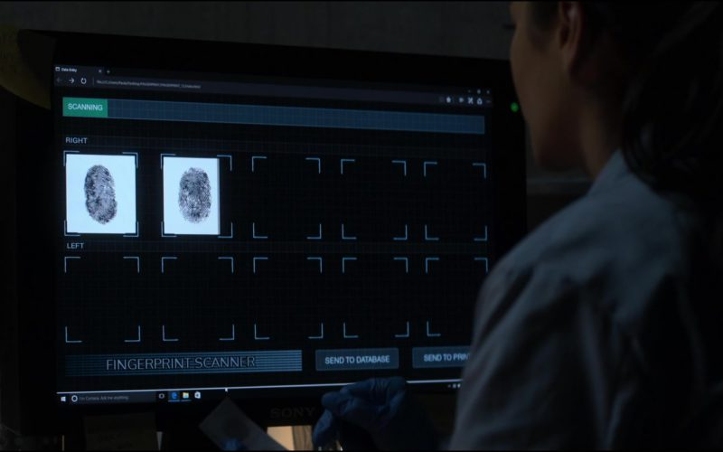 Sony Monitor Used by Shay Mitchell in The Possession of Hannah Grace