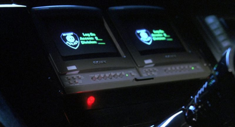 Sony Monitors in RoboCop 3 (1993) Movie Product Placement