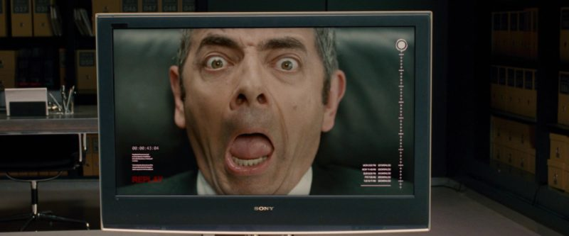 Sony TV in Johnny English Reborn (2011) Movie Product Placement