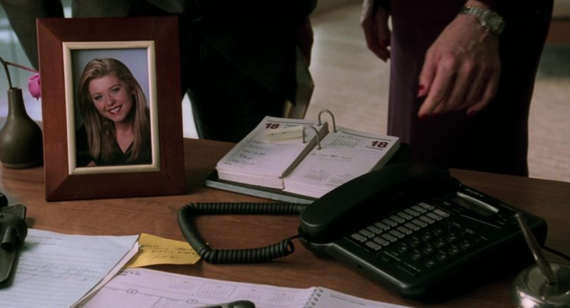 Sony Telephone Used by Swoosie Kurtz in Cruel Intentions (1999) Movie Product Placement