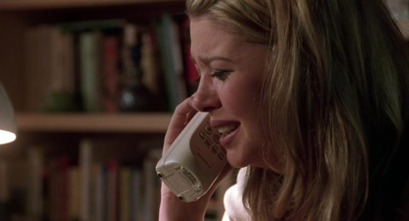Sony Telephone Used by Tara Reid in Cruel Intentions (1999) Movie Product Placement