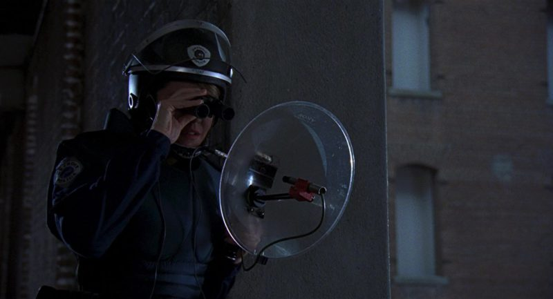 Sony Used by Nancy Allen in RoboCop 2 (1990) - Movie Product Placement