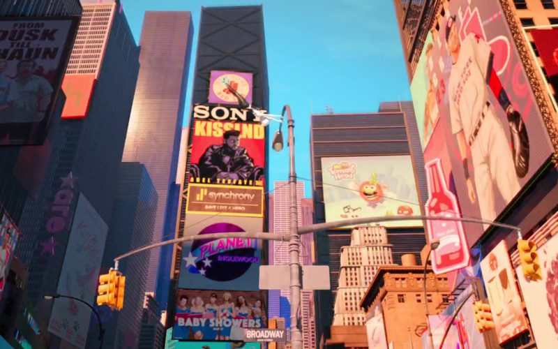 Sony and Synchrony in Spider-Man Into the Spider-Verse (1)