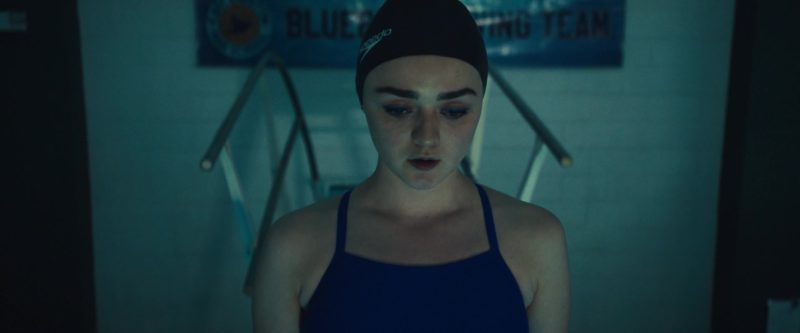 Speedo Swim Cap Worn by Maisie Williams in Then Came You (2018) - Movie Product Placement
