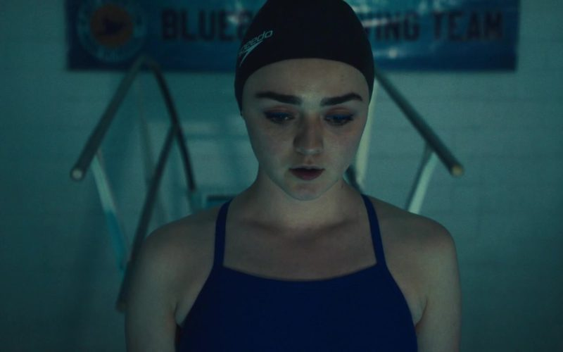 Speedo Swim Cap Worn by Maisie Williams in Then Came You (8)