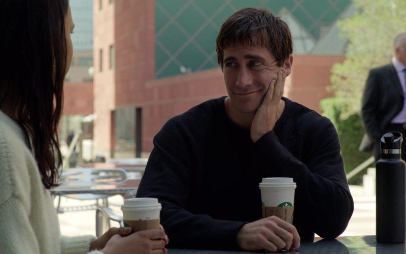 Starbucks Coffee Cup Held by Jake Gyllenhaal in Velvet Buzzsaw (1)