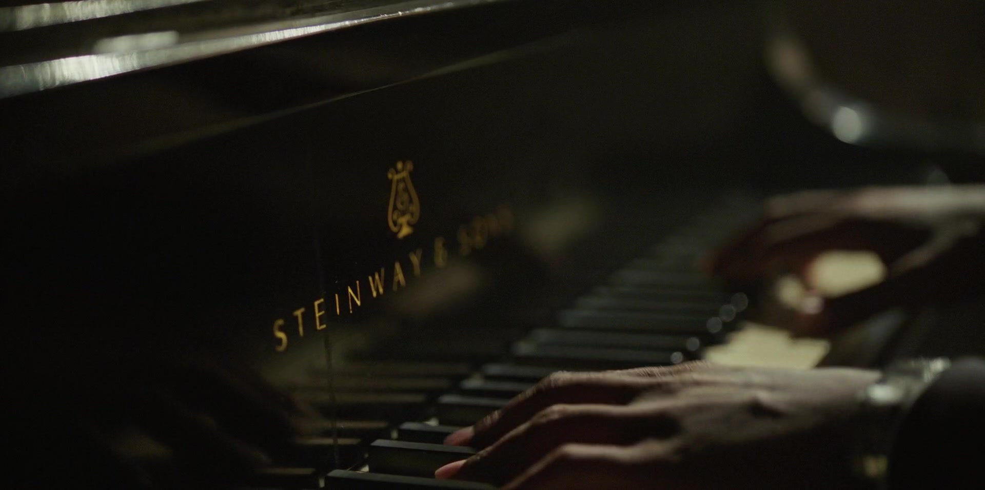 Steinway & Sons Pianos Used by Mahershala Ali in Green