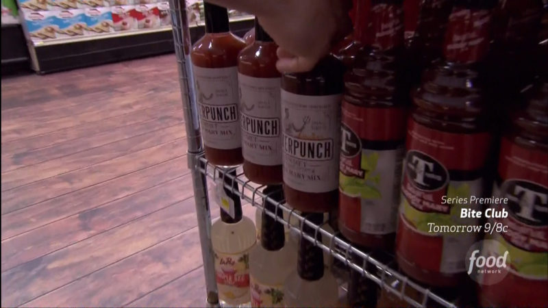 SuckerPunch Gourmet in Guy's Grocery Games Television Program Product Placement