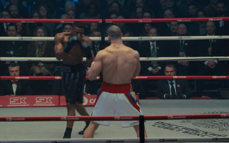 Superkombat and Conotoxia Boxing Ring in Creed 2 (1)