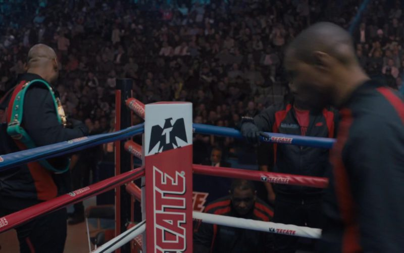 Tecate Beer Boxing Ring in Creed 2 (6)