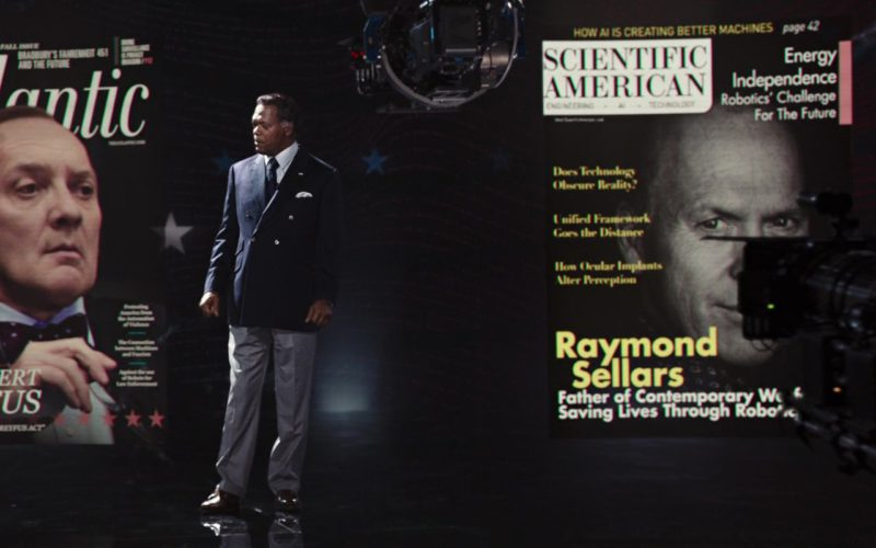 The Atlantic & Scientific American Magazines in RoboCop (1)