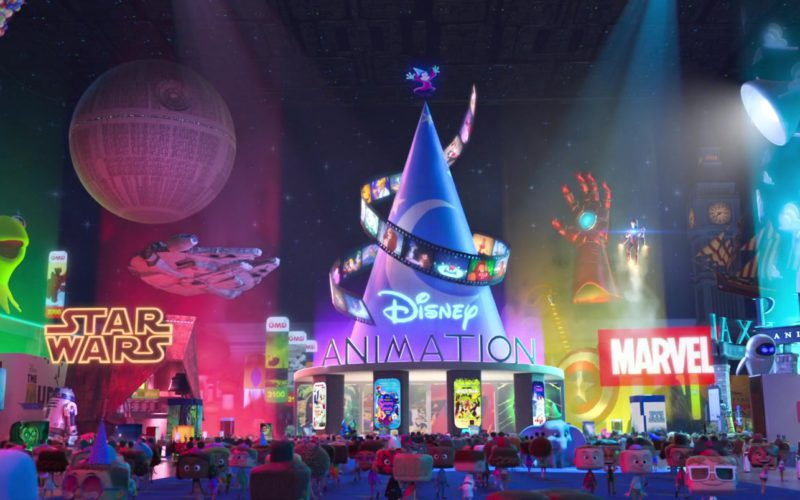 The Muppet Show, Star Wars, Disney Animation, Marvel and Pixar in Ralph Breaks the Internet